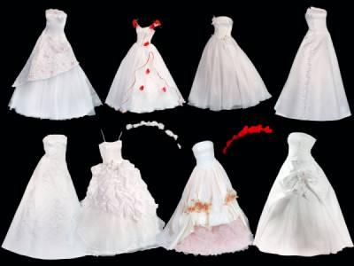 клипарт свадебное платье: